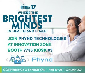 Phynd Technologies Exhibiting at Upcoming HIMSS 2017 Conference and Exhibition