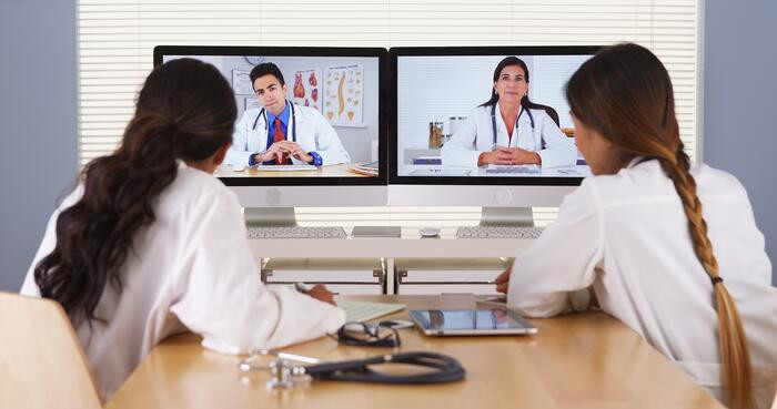 Doctors Video Conferencing