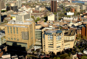Aerial View of Yale Health