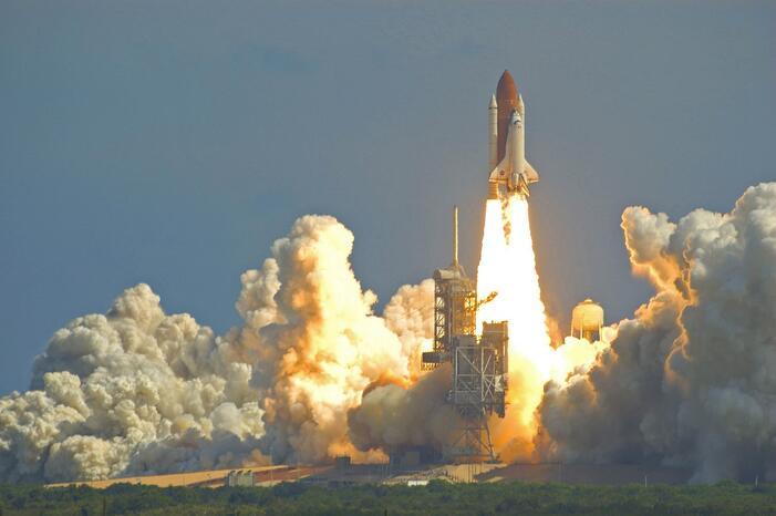 Space-shuttle Launching