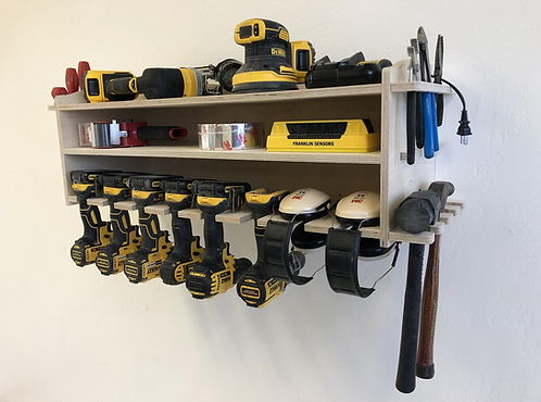 Power Tool Storage Tool Holder / 8 Spaces