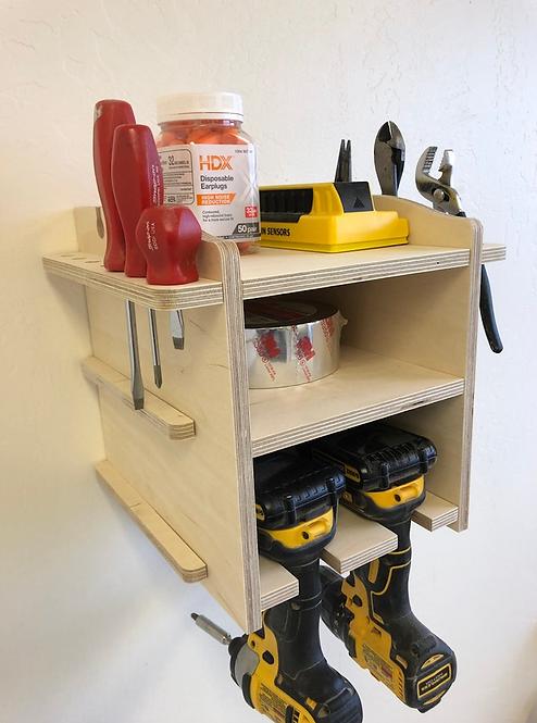 Power Tool Storage Tool Holder/ 2-10 Spaces