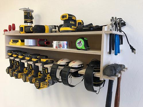 Power Tool Storage Tool Holder / 10 Spaces