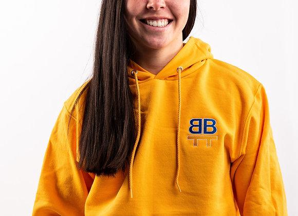BTB Yellow Hoodie - Left Chest Logo