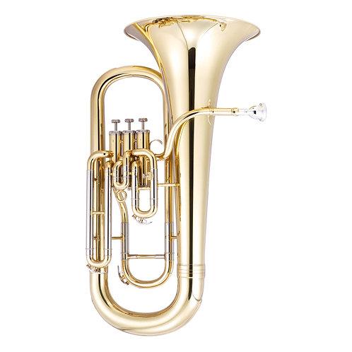 JP074 Euphonium 3 Valve Gold Lacquer