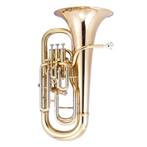 JP374L Sterling Euphonium Jp Sterling - Gold Lacquer With Jp Pro Case