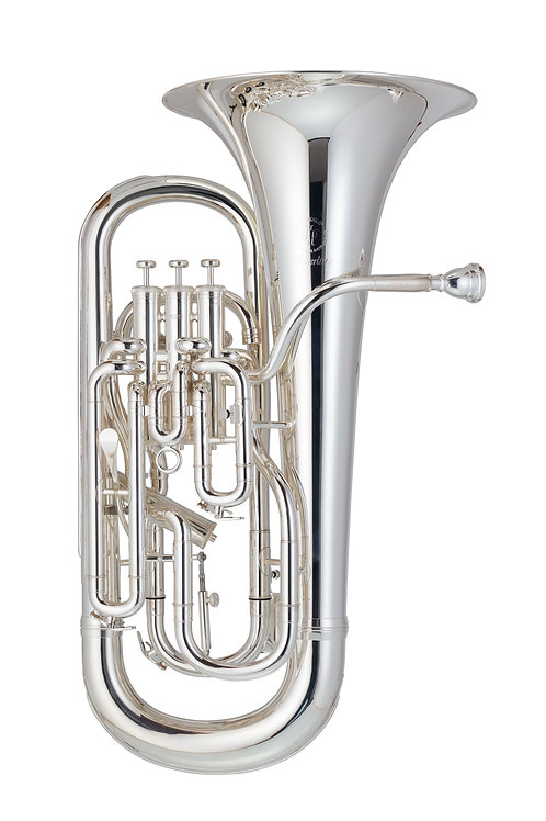 JP374ST Sterling  Euphonium New Model With Trigger And Jp Pro Case