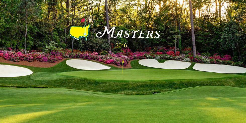 The Masters - Weekend Watch Party