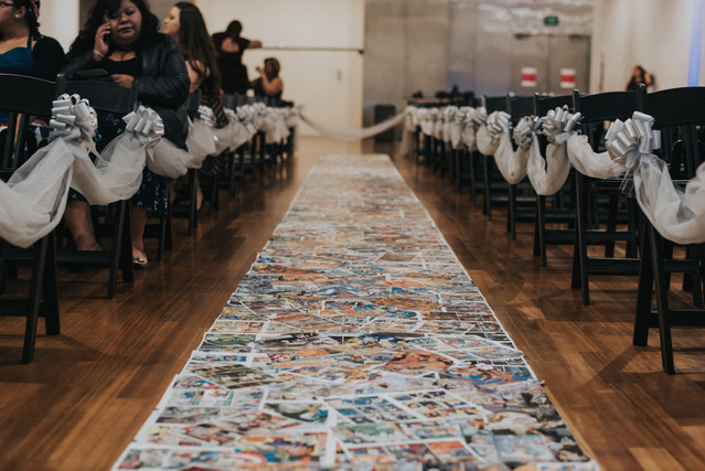 Marvel Comics Wedding Aisle Runner by VIParolaz