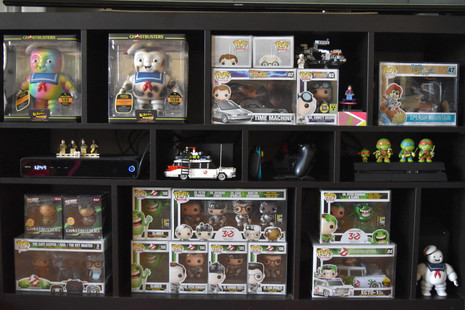 Ghostbusters, Back to the Future, and Splash Mountain Funko Pops via The VIParolaz