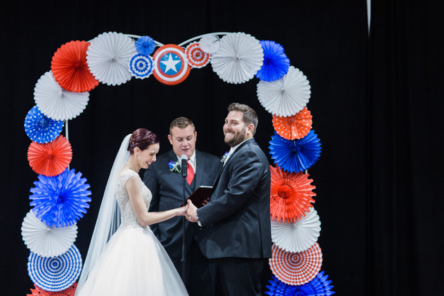 The VIParolaz Captain America Themed Wedding by Blurred Line Photography