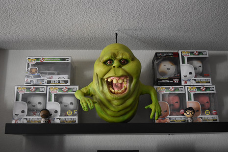 Slimer and Stay Puft Marshmallow Collection via The VIParolaz