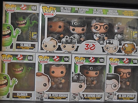 Funko Ghostbuster Collection