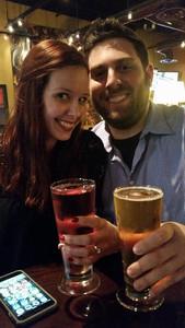 The Night We Got Engaged via Laura Escajeda