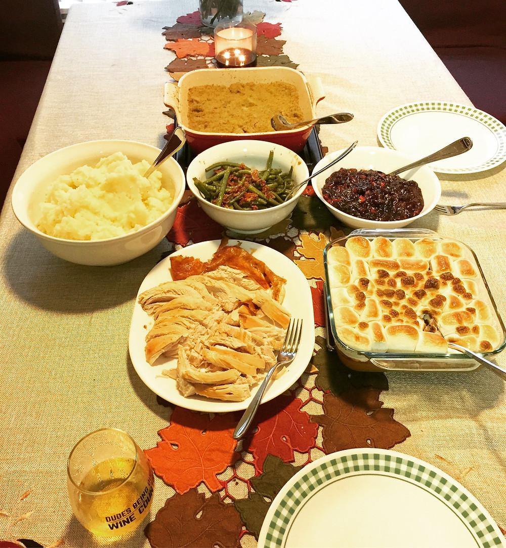 Gluten Free Thanksgiving Dinner via TheViparolaz.com