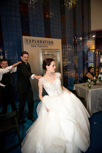 Conga Line Dancing - The VIParolaz Wedding By Blurred Line Photography