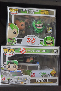 Funko Ghostbuster Venkman & Slimer 2 Pack and Ecto 1 Toy Tokyo Exclusive via The VIParolaz