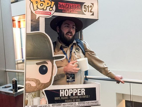 The Life-size Funko Pop Box Cosplay