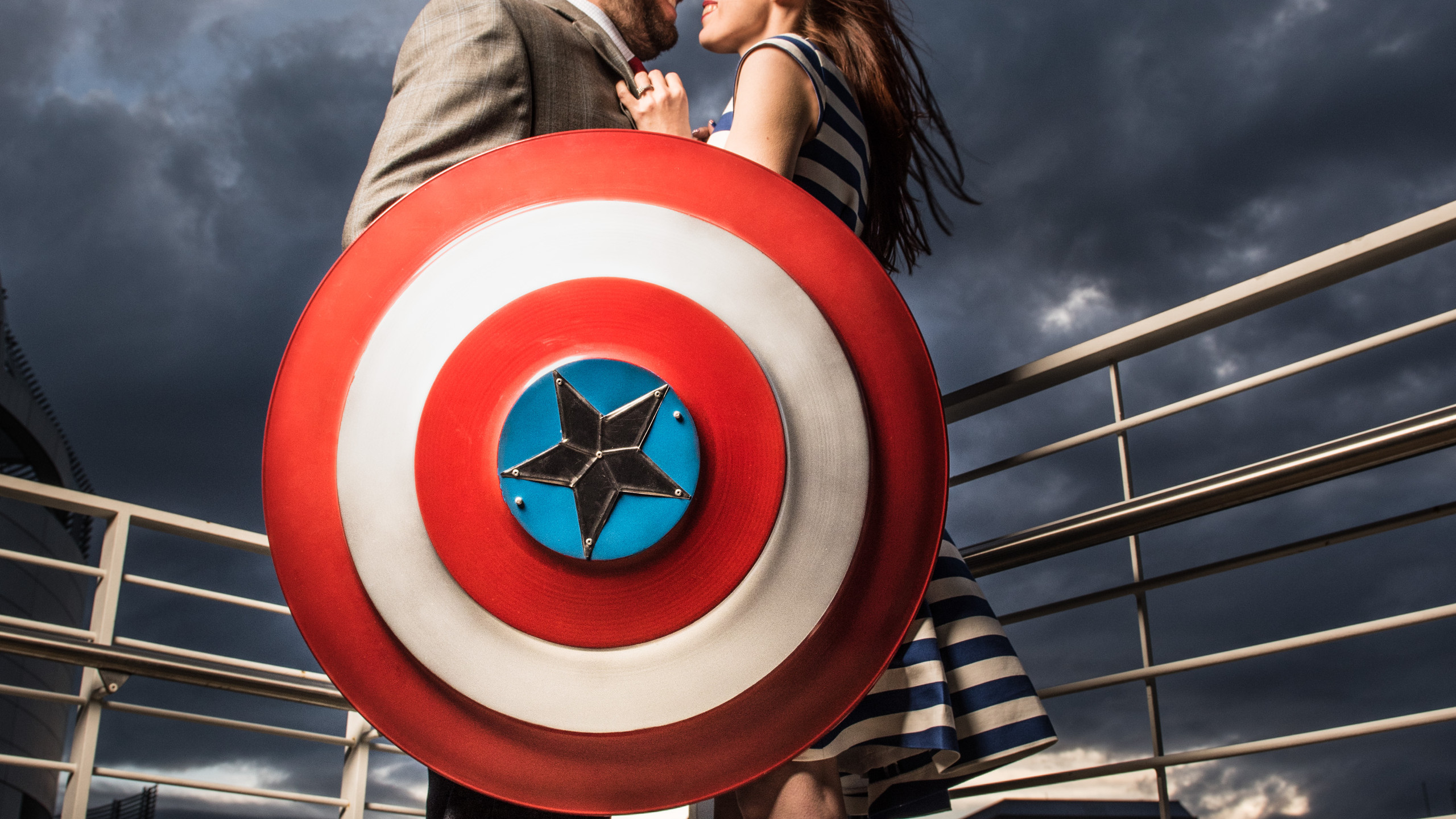 Captain America Themed Engagement Shoot via The VIParolaz by Blurred Lines Photography