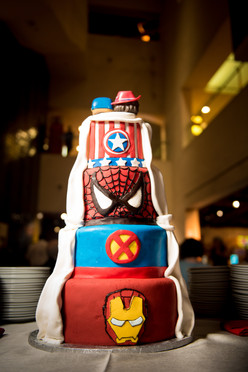 Marvel Wedding Cake by The VIParolaz