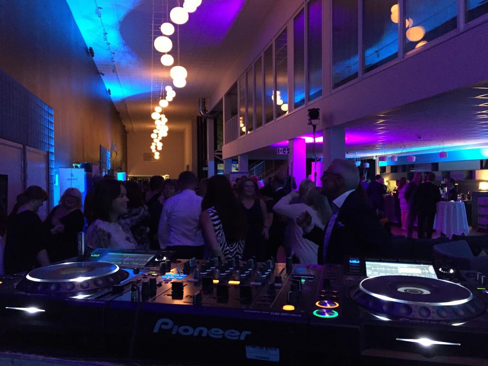 DJ med lyd og lys i Trondheim