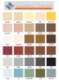 Dapeda Hellas Χρωματολόγιο