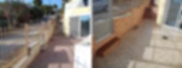 σταμπωτά δάπεδα, πατητή τσιμεντοκονία,  Σταμπωτά τοίχου, Βιομηχανικά δάπεδα