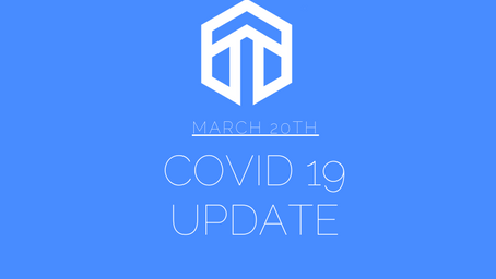 TH3 CPA: COVID-19 Update- March 20th