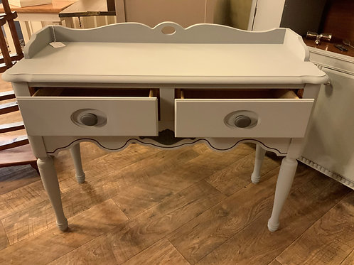 Gray Small Sofa Table 2 drawers (T-119)