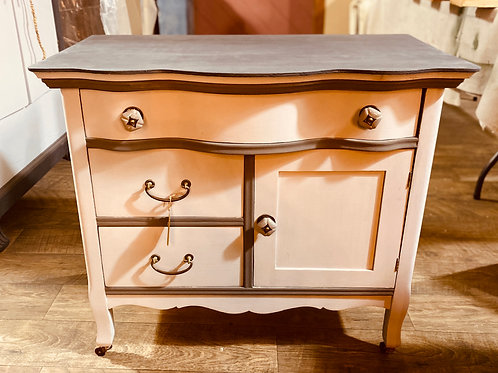 Antique two-tone Commode (c103)