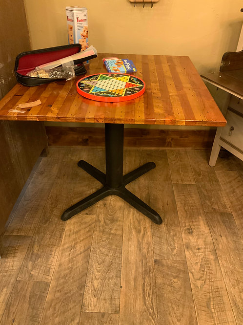 Game Table T 239  Repurposed Old Oak Pallets