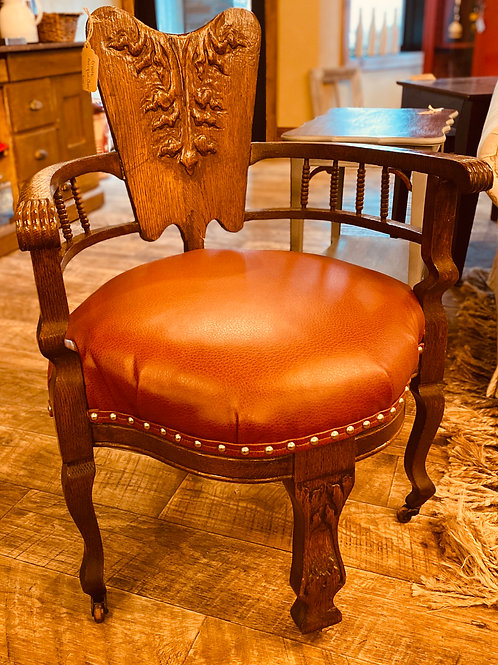 Ornate Upholstered Chair (ch101)