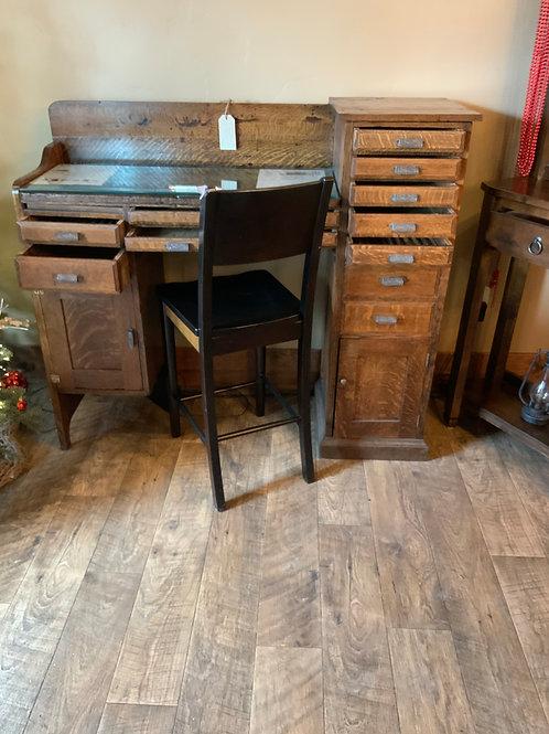 Antique Jewelers Work Desk (D-111)