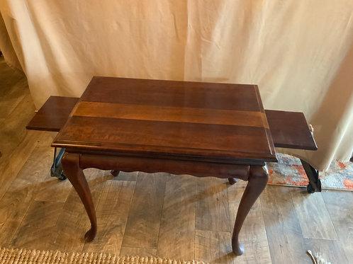 Mahogany Stripe Coffee Table (T-106)