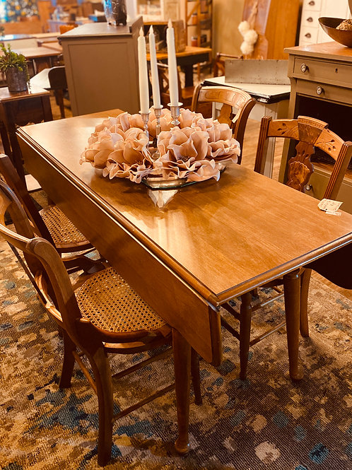 Drop Leaf Heywood Wakefield Table (t105)
