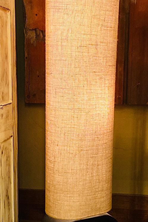Burlap Floor Lamp (m111)