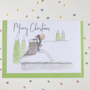 Delivering Presents - Christmas Card