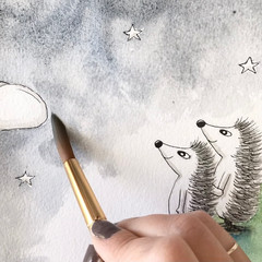Hedgehog commission process