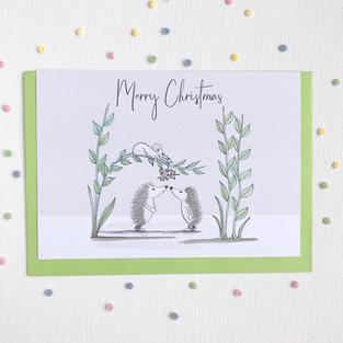 Mistletoe - Christmas Card