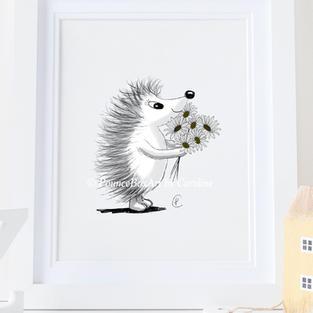 Hedgehog flowers