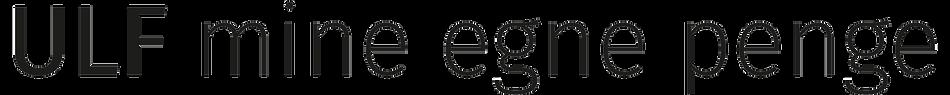 Mine egne penge logo