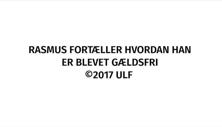 Rasmus fortæller om at blive gældsfri