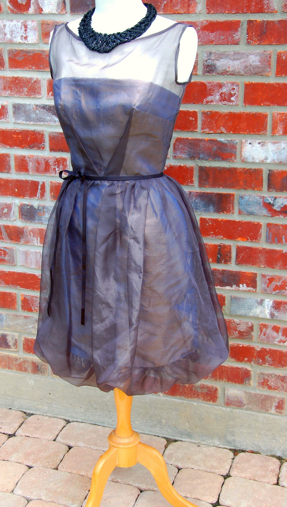 Silk Dupioni Bubble Dress