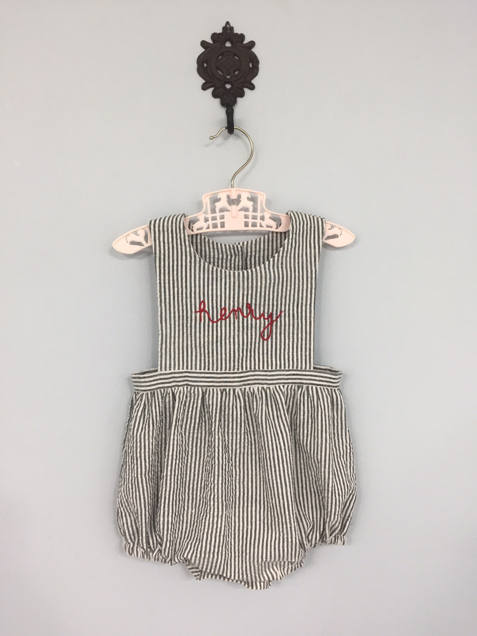Hand Embroidered Sunsuit