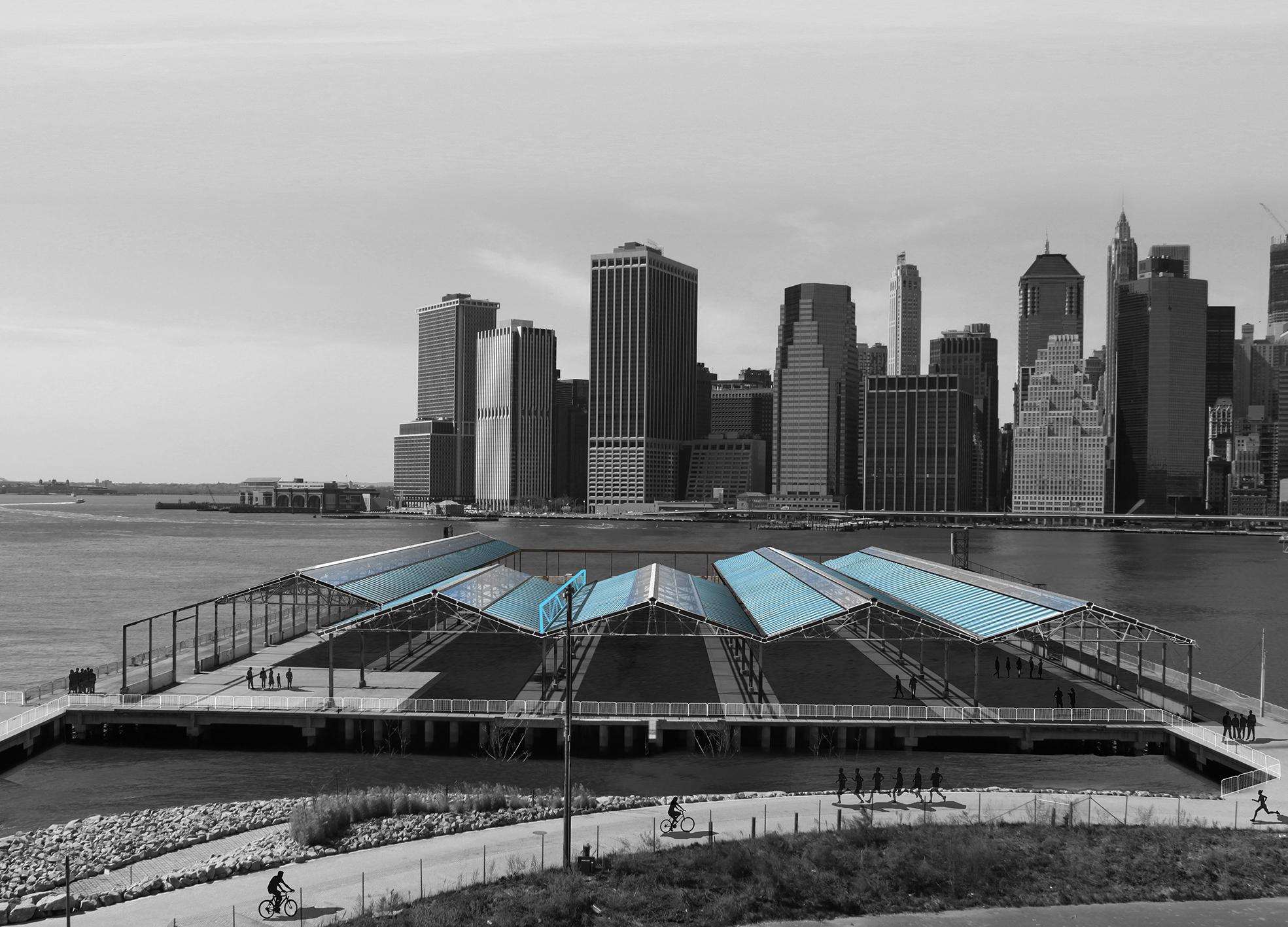 Brooklyn Bridge Park Pier 2 / NYC