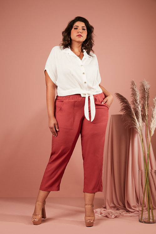 CAMISA VISCOSE CROPPED CT069.7