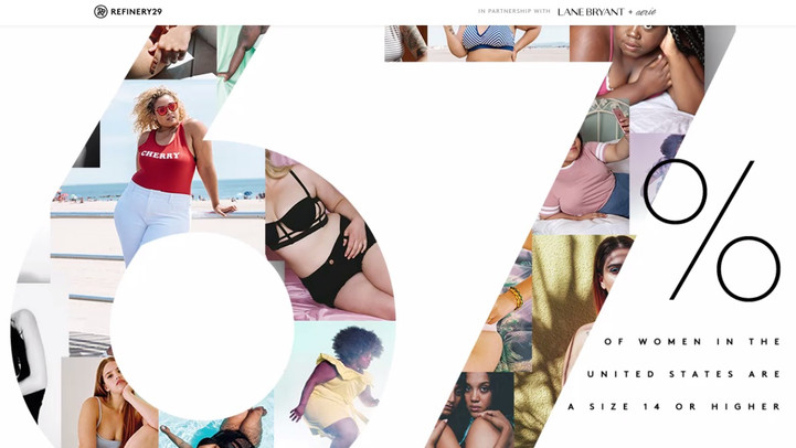 """""""The 67 Project"""" promete revolucionar a visão da mídia sobre as mulheres Plus Size."""