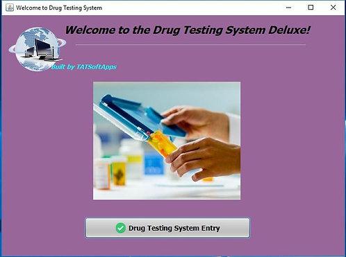 drug testing software splash screen