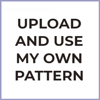 Use My Own Pattern