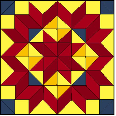 Carpenter's Wheel Variation